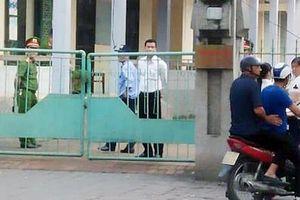 An ninh thắt chặt trước phiên tòa xử cựu Phó phòng Cảnh sát kinh tế xâm hại nữ sinh