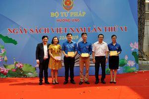 Bộ Tư pháp hưởng ứng Ngày sách Việt Nam lần thứ VI