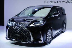 Lexus LM ra mắt minivan hạng sang với nội thất đẳng cấp