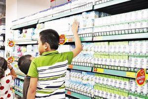 Có mấy loại sữa tươi được phép sử dụng cho Chương trình Sữa học đường quốc gia?