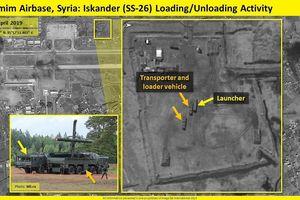 Tên lửa Iskander của Nga 'bỗng dưng' xuất hiện ở căn cứ Hmeimim tại Syria