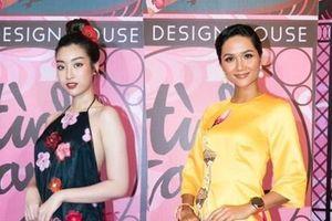 Biểu tượng nhan sắc Việt tề tựu trên thảm đỏ show của NTK Thủy Nguyễn