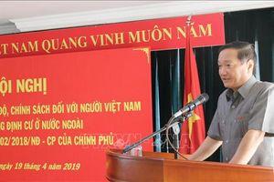 Hội nghị triển khai chế độ, chính sách đối với người Việt Nam có công đang định cư ở nước ngoài
