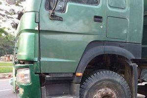 Người phụ nữ tử vong thương tâm sau va chạm với xe tải
