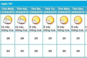 Dự báo thời tiết Hải Phòng 10 ngày tới