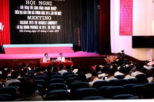 Tỉnh Hải Dương tổ chức đối thoại với doanh nghiệp lần thứ nhất năm 2019