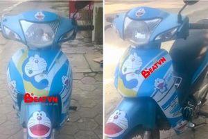Chàng trai 32 tuổi bị bạn gái chia tay chỉ vì... chiếc xe máy dán hình Doraemon