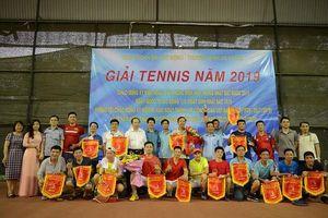 34 'vợt thủ' tranh tài tại giải Tennis Công đoàn Bộ LĐ-TB&XH năm 2019