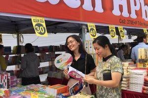 Trưng bày 10.000 cuốn trong ngày hội sách tại Hải Phòng