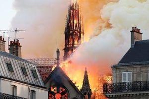 Vụ cháy Nhà thờ Đức Bà Paris: Nguyên nhân có thể do chập điện