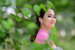 Ngắm vẻ đẹp trong sáng của Hoa khôi sinh viên Việt Nam 2018