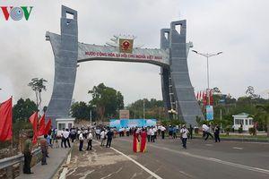 Khánh thành Quốc môn - Cửa khẩu Quốc tế Lệ Thanh tại Gia Lai
