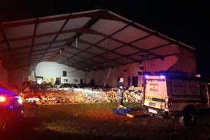 Sập nhà thờ ở Nam Phi làm 13 người thiệt mạng