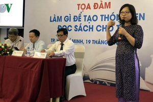 Người Việt không có thói quen đọc sách?