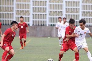 Bị đối thủ Myanmar cầm hòa, U18 Việt Nam chưa thể tự tin vô địch