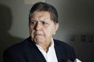Cựu tổng thống Peru để lại thư tuyệt mệnh hé lộ nguyên nhân tự sát