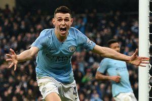 Man City trở lại ngôi đầu sau chiến thắng trước Tottenham