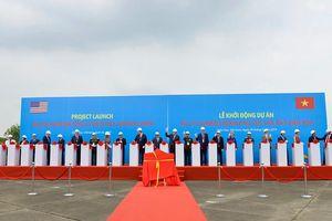 Mỹ và Việt Nam khởi động dự án xử lý dioxin tại Sân bay Biên Hòa