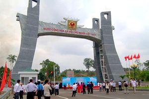 Khánh thành công trình quốc môn cửa khẩu quốc tế Lệ Thanh