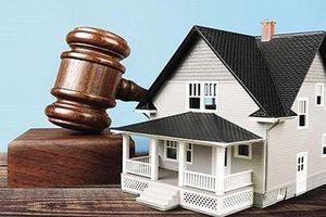 Có được kiện 'tranh chấp về kết quả bán đấu giá tài sản' hay không?