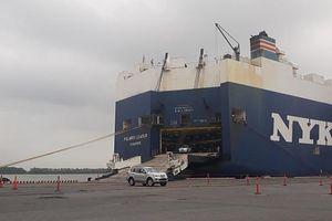 2 cầu tàu cảng Tân Vũ, Hải Phòng được nạo vét đạt độ sâu âm 9 mét