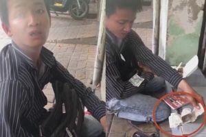 Chàng trai liệt hai chân không nhận tiền giúp đỡ khi bị cướp 150 tờ vé số?