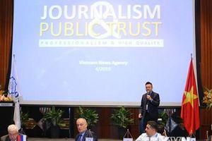 Các hãng truyền thông khu vực đưa tin đậm nét về hội nghị OANA 44
