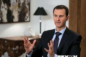 Tổng thống Syria Bashar al-Assad tiếp Phó Thủ tướng Nga Yury Borisov