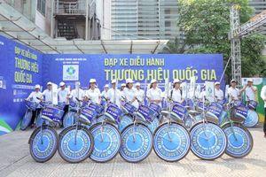 Đạp xe diễu hành quảng bá Thương hiệu quốc gia