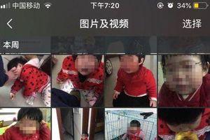 Cha nhẫn tâm nhốt con gái vào lồng, chụp ảnh gửi vợ cũ