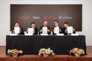 Toyota và Softbank rót thêm 1 tỷ USD vào mảng xe tự lái của Uber