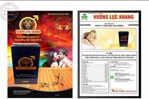 Vương Lực Khang bị cảnh báo vi phạm quảng cáo thế nào?