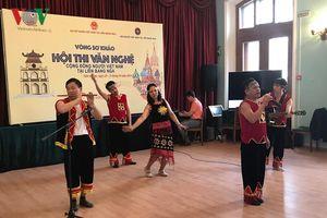 Sôi động Hội thi văn nghệ cộng đồng người Việt tại Nga năm 2019