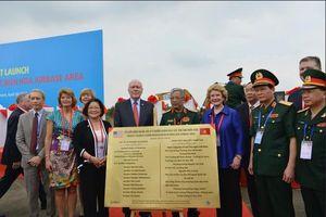 Mỹ chính thức khởi động dự án tẩy độc dioxin lớn nhất ở sân bay Biên Hòa