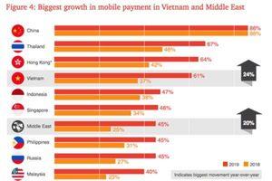 Việt Nam, Thái Lan 'bứt tốc' trong Đông Nam Á về thanh toán di động