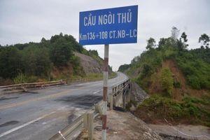 Tổng cục Đường bộ yêu cầu khẩn trương sửa chữa cầu Ngòi Thủ