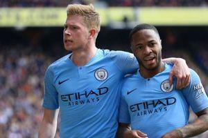 Bảng xếp hạng 5 giải quốc gia hàng đầu châu Âu: Man City thắng may mắn
