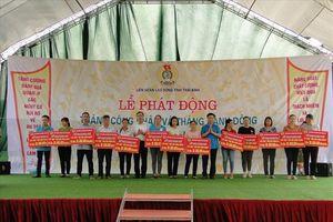 LĐLĐ Thái Bình: Tặng 800 suất quà động viên CNVCLĐ tiêu biểu