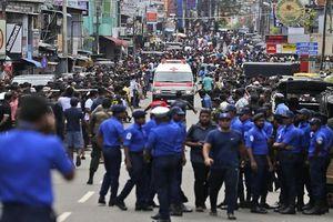 Hình ảnh về loạt vụ nổ khiến hàng trăm người thương vong tại Sri Lanka