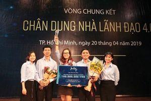 Nguyễn Thị Thùy Vy đăng quang Cuộc thi học thuật Leadership 4.0 – 2019
