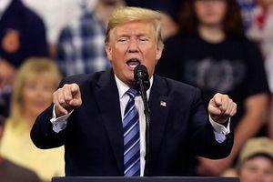 Tỷ lệ ủng hộ Tổng thống Mỹ xuống thấp