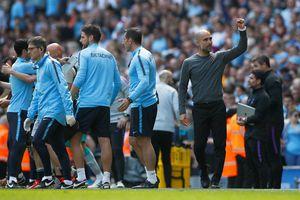 HLV Guardiola khâm phục các cầu thủ Man City