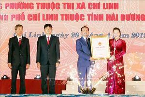Công bố Nghị quyết về thành lập TP.Chí Linh, Hải Dương