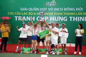 Sôi nổi giải quần vợt các CLB & Hội Nhóm TP.HCM 2019