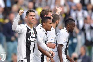 Juventus vô địch Serie A lần thứ 8 liên tiếp