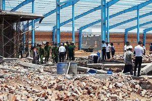 Vụ sập công trình nhà xưởng ở Vĩnh Long: nạn nhân thứ 7 tử vong