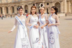 Thí sinh Hoa hậu Thế giới Người Việt tại Pháp 2019 khoe nhan sắc rạng rỡ