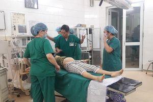 Chửa trên vết mổ đẻ cũ, thai phụ bị vỡ tử cung