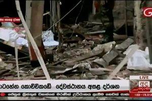 Đánh bom liên hoàn tại nhiều nhà thờ, khách sạn ở Sri Lanka, 160 người chết
