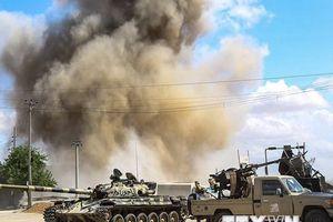 Libya: Đụng độ lớn nổ ra ở ngoại ô phía Nam thủ đô Tripoli